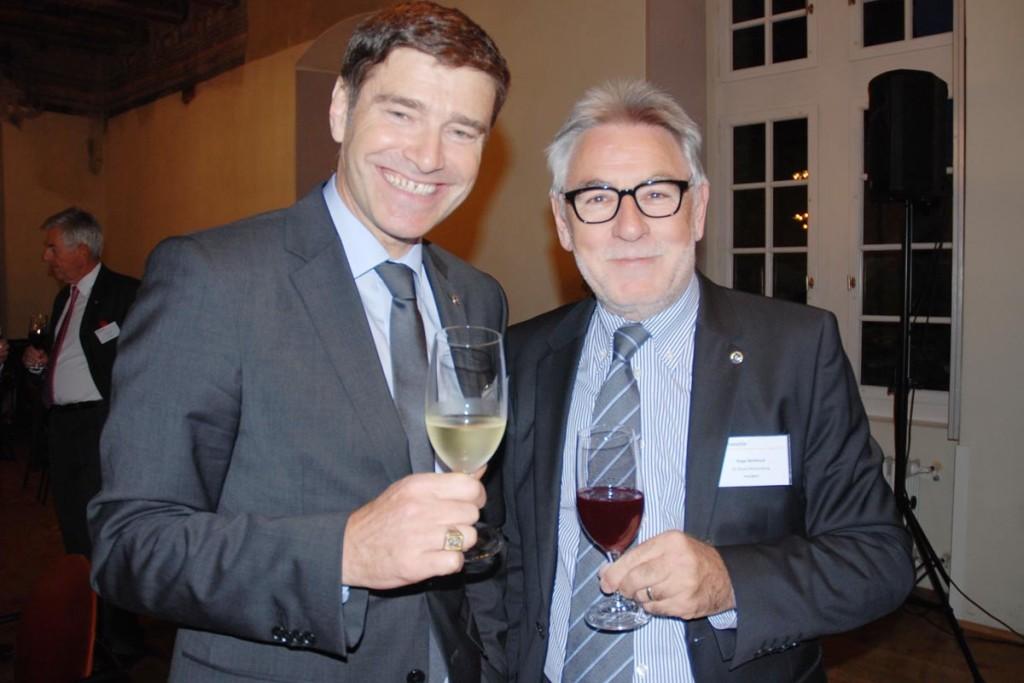 Urs von Arx und Roger Berthoud