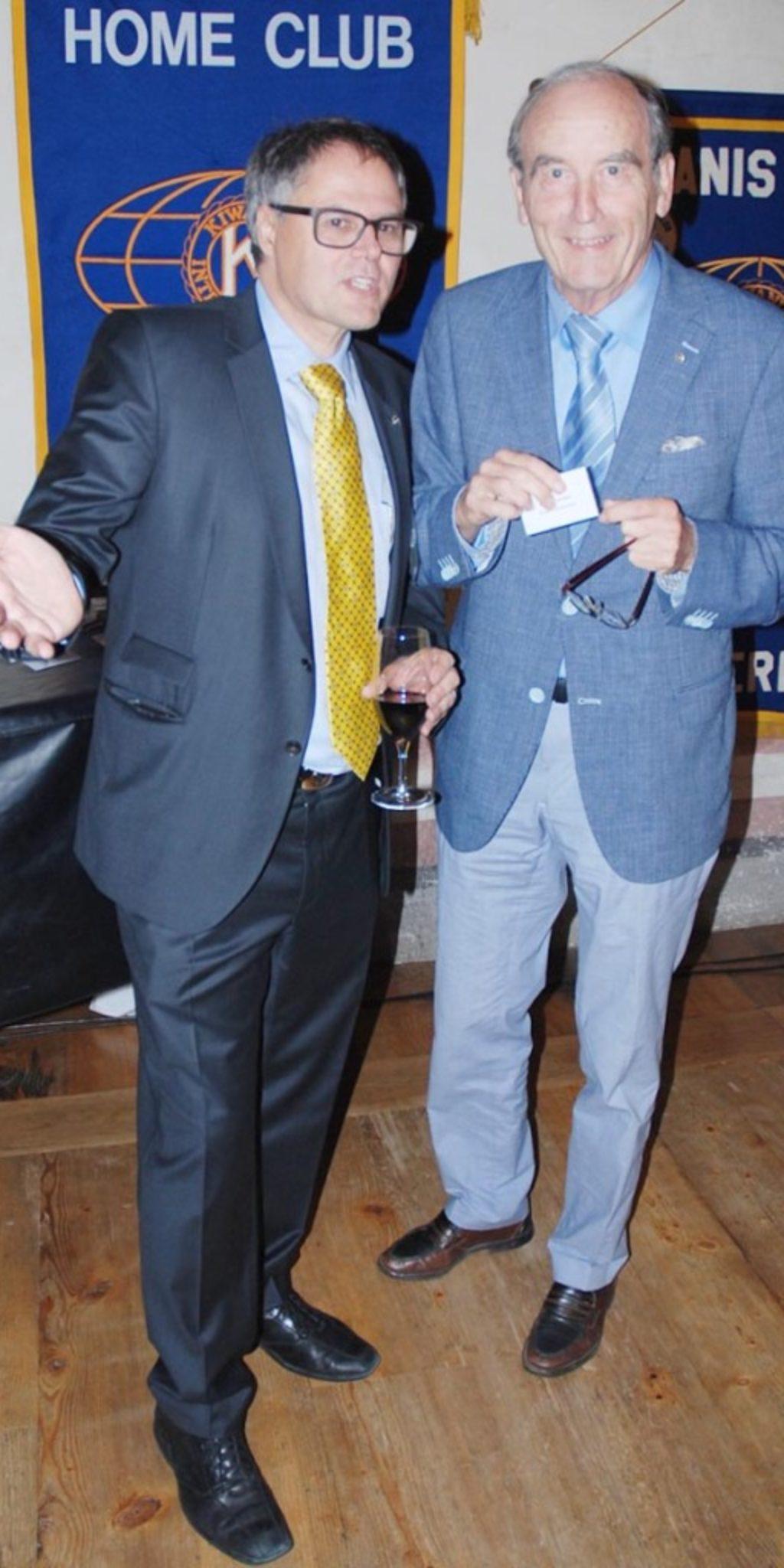 Renato Ghidini und Niklaus Weisskopf