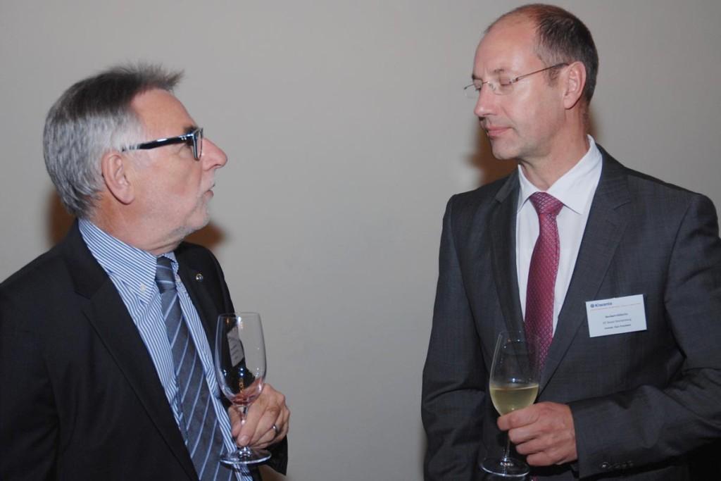 Roger Berthoud und Norbert Höferlin