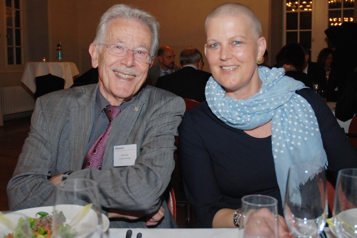 Klaus Artz und Katharina Stein
