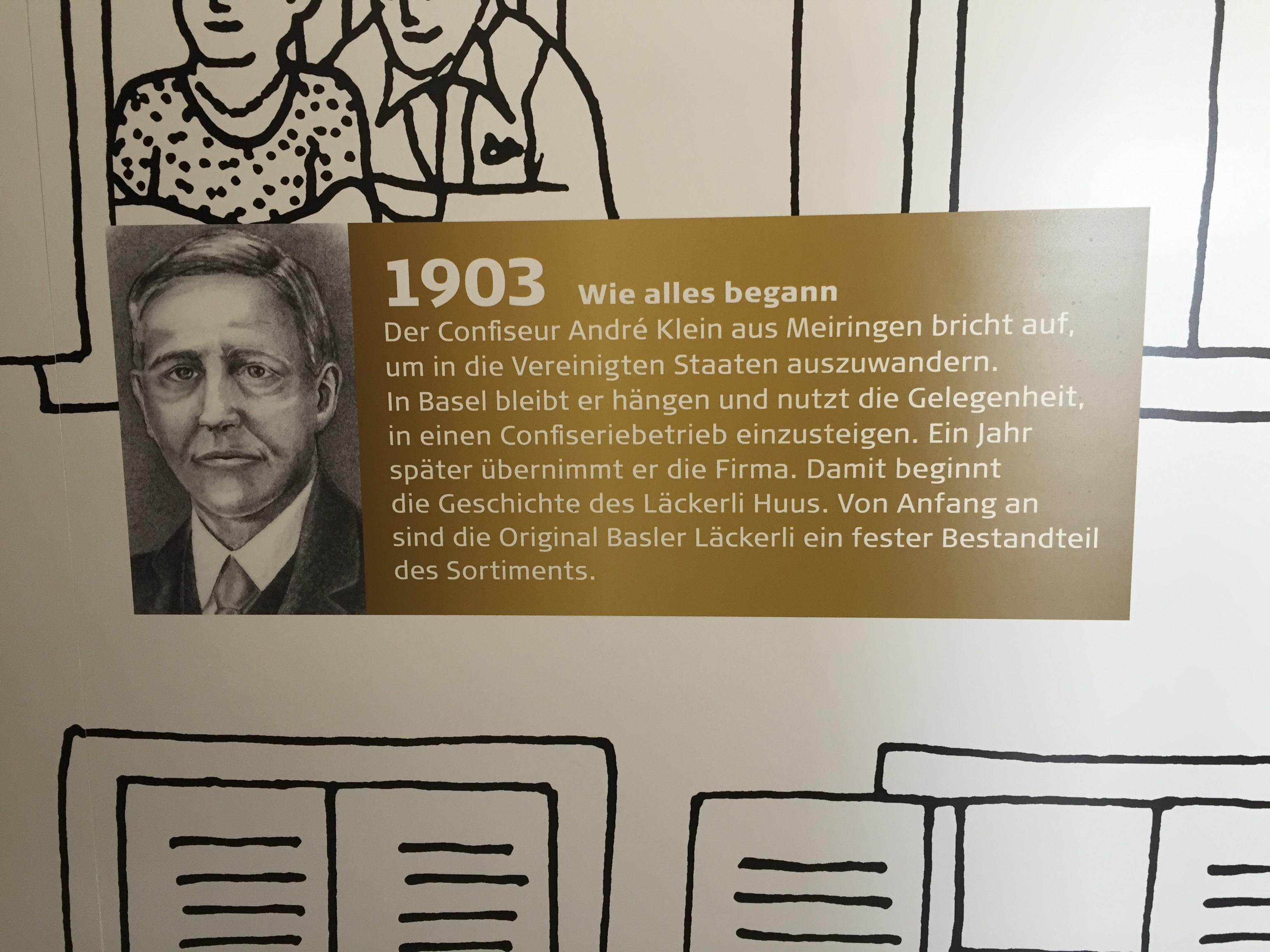 Besuch Läckerli Huus Frenkendorf