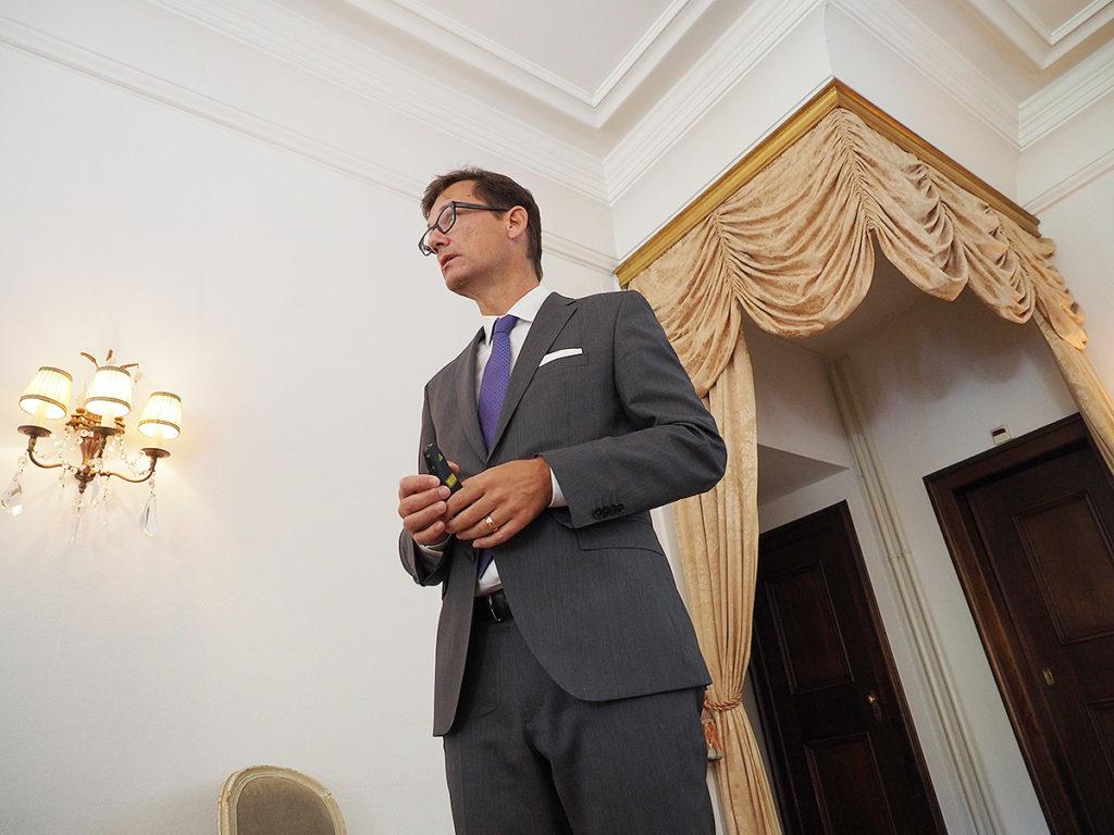 Daniel Hanimann, Mitglied der Direktion, Delegierter Nordwestschweiz