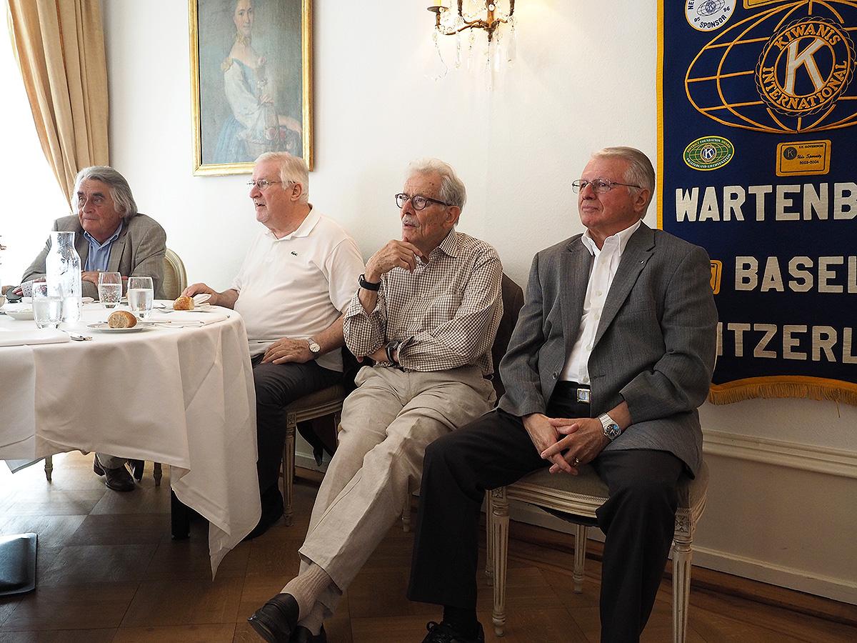 George, Markus, Klaus und Urs