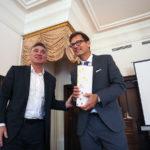 President Elect Goran Radin bedankt sich
