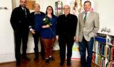 Kiwanis Club Basel Wartenberg mit Geschäftsleiterin Catia Gehrig von der Stiftung für krebskranke Kinder