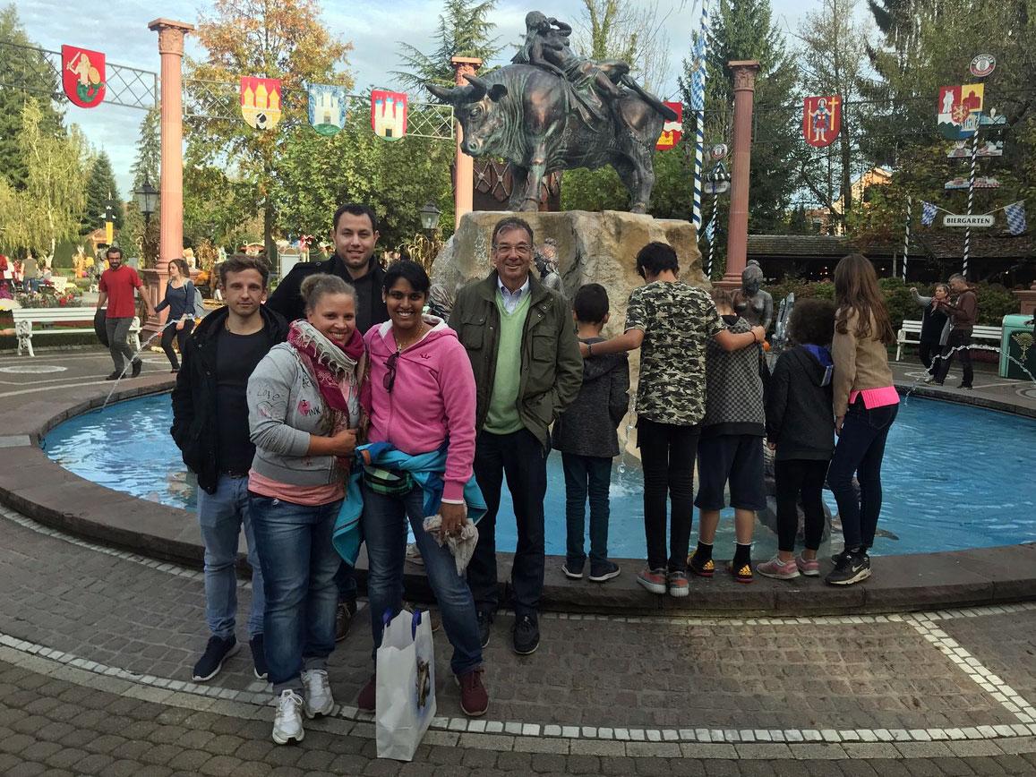 Wohngruppe Heugümper im Europapark