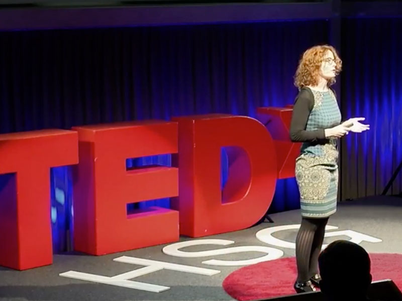 Lucy Koechlin @ TEDx HSG