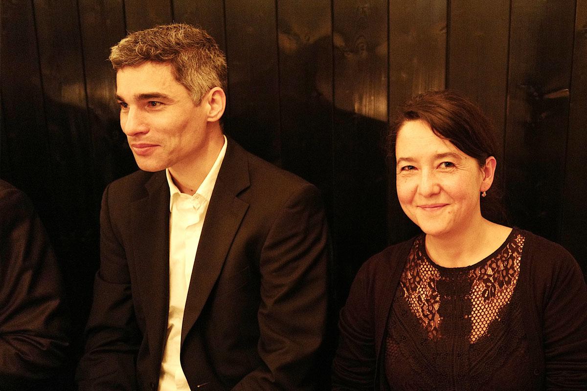 Franziska und Stefan in der ruhigen Ecke
