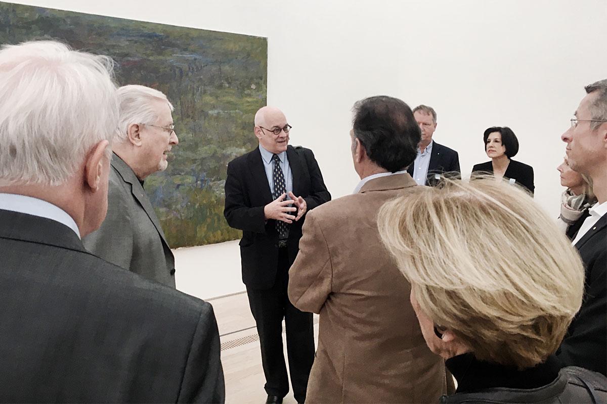 Führung in der Fondation Beyeler mit Ruedi Stächelin