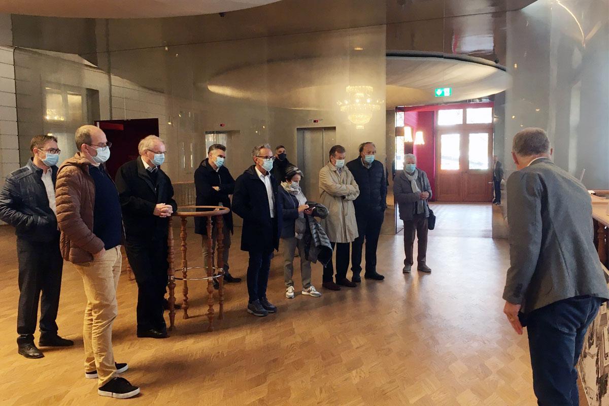 Führung Stadtcasino Basel Foyer