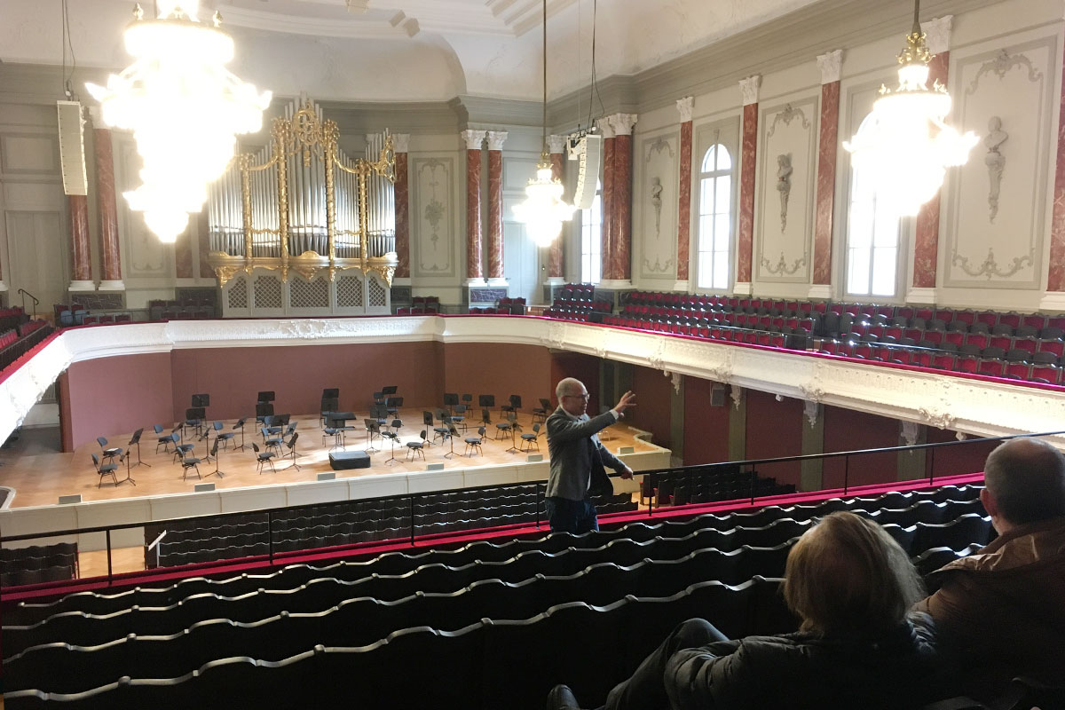 Führung Stadtcasino Basel Musiksaal