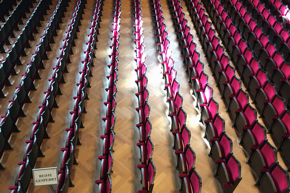 Führung Stadtcasino Basel Musiksaal Parkett