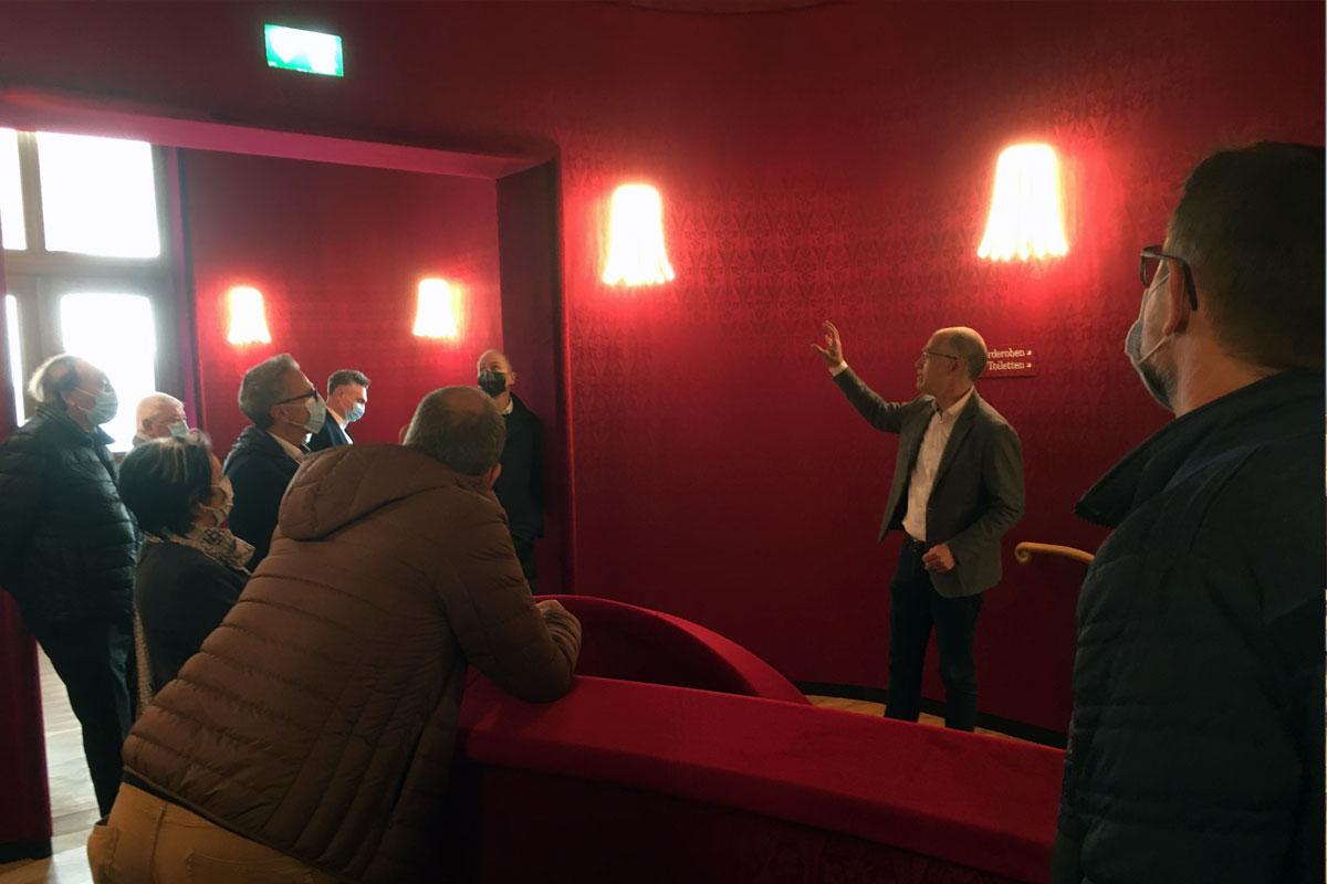 Führung Stadtcasino Basel Treppenaufgang